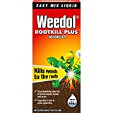 500 Ml, Bottle Weedol Rootkill Plus Weedkiller Liquid Concentrate Bottle, 500