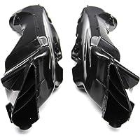 Moto Air Duct 1/coppia da tubo di aspirazione aria condotto moto per Suzuki Gsxr 600/750/1000/00/ /03/K1/ABS plastica moto di ricambio