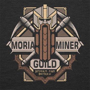 Texlab–Moria Miner Guild–sacchetto di stoffa Nero