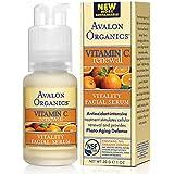Avalon Organics VITAMIN C RENEWAL VITALITY FACIAL SERUM (Organic) (1.25oz) 30ml