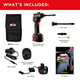 Air Hawk Pro Car Tyre Inflator - Handheld Electric Compressor, Digital Pressure Gauge - Includes LCD Display, LED Light, Pin Attachments & Car Adapter Bild 2