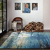 Antiscivolo 120 x 160 cm Nero iBaste Tappeto da Salotto per la Camera dei Bambini