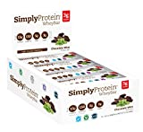 SimplyProtein Whey Bar, Chocolate Mint, Gluten-Free - (1.4 oz, Pack of 12) by...