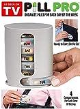Zollyss Medicine Storage Pill Pro Box Organizer With 7 Single Box & 4