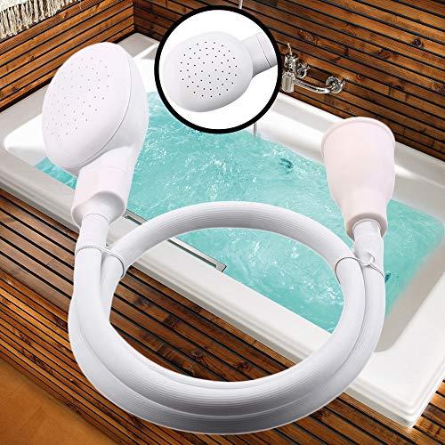 Duschkopf für Hunde Spraydosen Schmutzfänger Haustier Badeschlauch Waschbecken Waschen Haar Haustier Friseur Haarwäsche Haustier Push Saving Shower