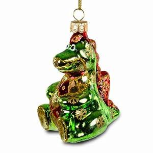 SIKORA BS211 Drache Christbaumschmuck Glas Figur Weihnachtsbaum Anhänger