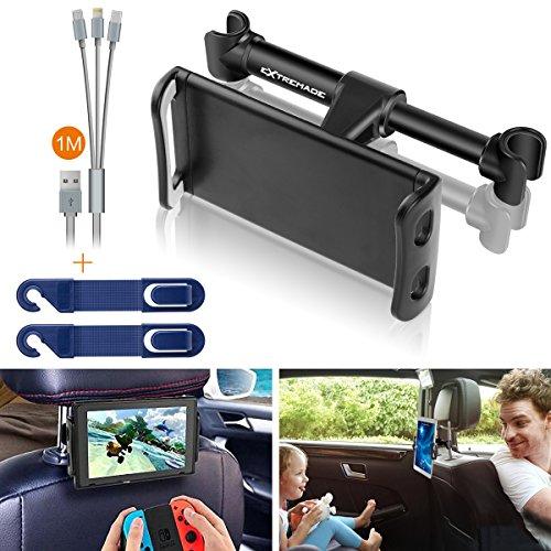 Extremade Tablet Halterung Auto kopfstütze,Smartphone Tablet Halterung Auto,Tablet Kopfstützenhalter :iPad Halterung Auto kopfstütze für 11,94-20,07 cm Tablets Oder Andere Gerät