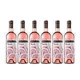 Raimat | Vino Rosado Raimat Rosada 2017 | D.O. Costers del Segre | Caja de 6 botellas de 75 cl