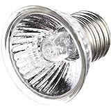 gaeruite - Lampada per rettili Turtle Sunburn, Sunlamp a spettro completo UVB, 25W/50W/75W lampada a morsetto per tartarughe, E27
