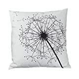 Wohnkultur❤️ Vovotrade Kissenbezüge Fahion 45cm * 45cm Square Dekokissen Cases Sofa Kissenbezug Chic Streifen Feather Geometry Muster Kissenbezüge Home Decor Schlafzimmer Dekoration (A, 45cm*45cm)