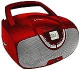 Roadstar CDR-4550U/RD - Radio CD (analógica