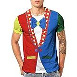 ZEELIY Under 10 Euro 3D Print Kurzarm Bluse Oansatz T-Shirt Tops Bluse