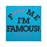 F*** Me I'm Famous: T-shirt Logo Athlétique