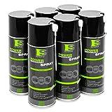 6x Spraytive 400 ml Power Druckluftspray / Druckluftreiniger mit 100mm Sprühverlängerung | Druckluft aus der Dose (Air Duster) | Für die Reinigung von Tastatur, PC / Computer, Kamera | Made in Germany!