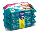 #1: Snuggles Baby Wet Wipes with Aloe Vera and Vitamin E, 72 Pcs/Pack (Pack of 3)