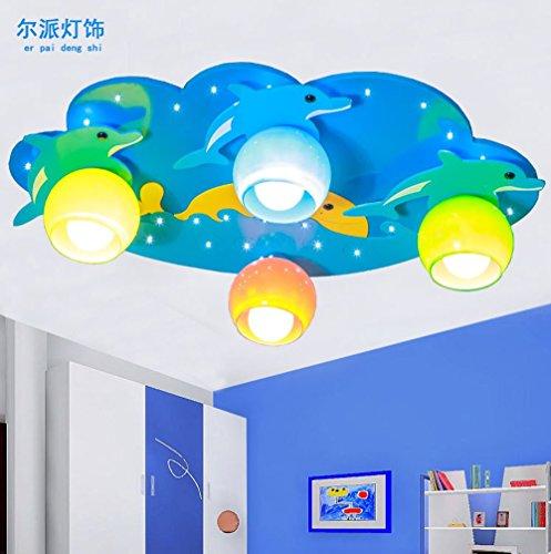 dolsuml-cool-design-plafoniere-lamparas-de-techo-led-madera-dolphin-coral-nino-ocean-cartoon