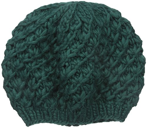 san-diego-hat-company-womens-chunky-yarn-woven-beret-hat-teal-one-size