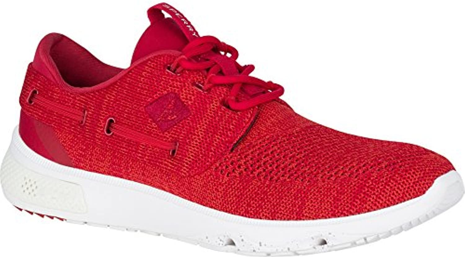 Sperry 7 Seas Knit Boat Shoe (10 M US  Red)