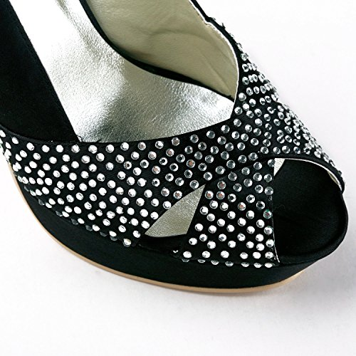 Minitoo , Escarpins pour femme Black-12cm Heel