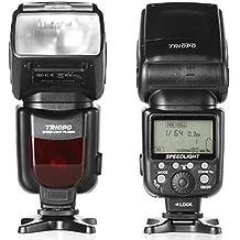 P de FRANKEN by Triopo Speedlite tr de 980C–Automático dispositivo de flash para cámaras réflex Canon EOS–Soporta TTL–Guía 54