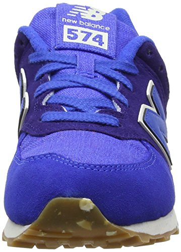 New Balance Kl574esg M, Sneakers Basses Mixte Enfant Bleu (Blue)