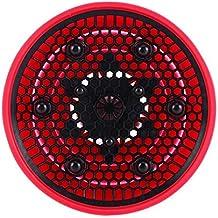 Retrattile pieghevole del silicone parrucchiere Capelli ricci asciugacapelli diffusore, Rosso