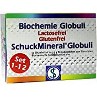 BIOCHEMIE Globuli Set 1-12 Lactose frei 12X7.5 g preisvergleich bei billige-tabletten.eu