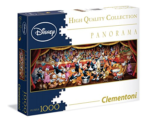 Disney – Clementoni – High Quality Collection – Panorama Puzzle – 1000 Teile
