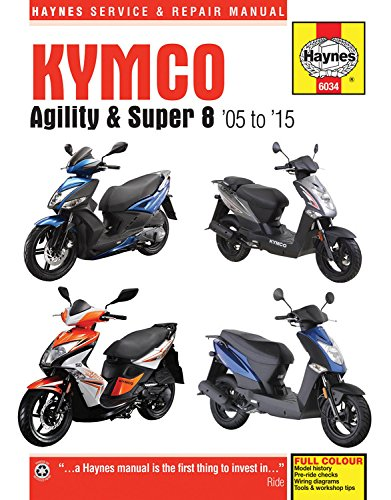 Kymco le meilleur prix dans amazon savemoney kymco agility super 8 scooters 05 15 haynes motorcycle fandeluxe Image collections