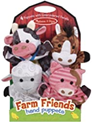 Farm Friends Hand Puppets 4 Pack Case Pack 2