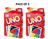 #3: Generic UNO Playing Cards Game for Kids and Adults (Multicolour) - Set of 2