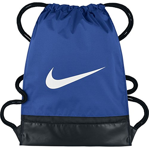 Nike Brasilia Sportbeutel, Game Royal/Black/White, 48.3 x 38.1 x 5.1 cm