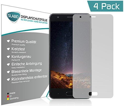 4 x Slabo Bildschirmschutzfolie für DOOGEE X20 Bildschirmfolie Schutzfolie Folie Zubehör
