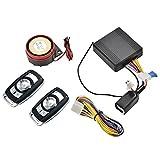 asiproper Motorrad Sicherheit Alarm System Diebstahlsicherung Fernbedienung Engine Start Kit