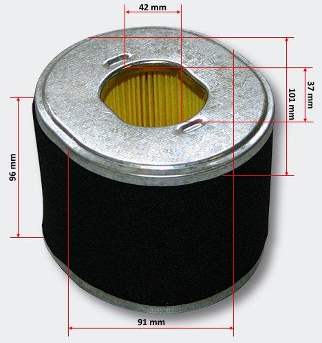 Cartuccia di ricambio Lifan filtro aria per 13HP-15HP benzina/motore a benzina
