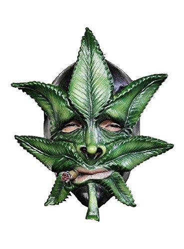 Kiffer Mutant Latex Maske zum verrückten Halloween Kostüm (Kiffer Kostüm)