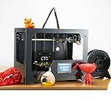 CTC 3d printer Metall Desktop Printer Reprap Dual Extruder/Dual Nozzle LCD Screen self-assembly DIY Model Replicator, [Import UK-]