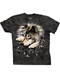 TAILAD Men's Wolf In Dye Paw Short Sleeve T-Shirt