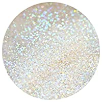 Iridescent Holo Glitter *** Rainbow White *** 10g 20g 50g 100g