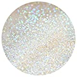 10G 20G 50G 100G GLITTER WINE GLASS CRAFT HOLOGRAPHIC IRIDESCENT NAIL ART FLORISTRY DUST (10g Iridescent White (Rainbow))