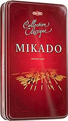 Tactic - 14010 - Jeu Classique - Coffret Métal - Mikado
