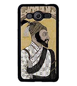 Fuson Designer Back Case Cover for Samsung Galaxy Core 2 G355H :: Samsung Galaxy Core Ii :: Samsung Galaxy Core 2 Dual (King Shahaji Father of Shivaji Jijamata )