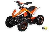 Mini Kinder ATV 49 cc Racer Pocketquad 2-takt Quad (orange / weiß)