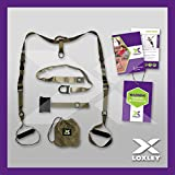 SUSPENSION TRAINER Straps Training KIT CrossFit HOME Workout Strength Gym LOXLEY®