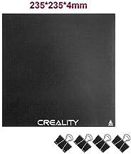 Creality Ender 3 Plateforme, Plateforme d'imprimante 3D Améliorée Trempé Plaque de Verre pour Lit Chauffan