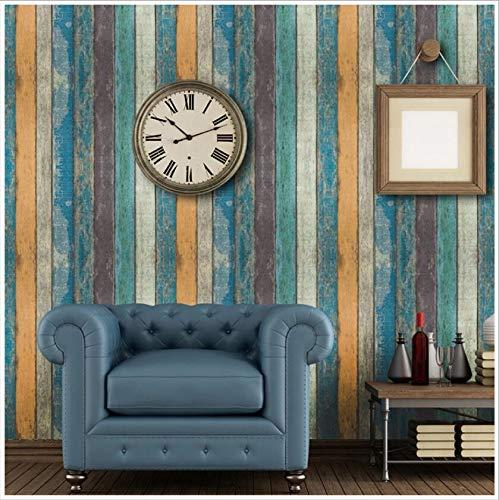 (Pmhhc Moderne Vintage Holz Selbstklebende Tapeten Für Wohnzimmer Möbel Schlafzimmer Wals Wasserdichte Vinyl Roll Wand Kontakt-Papier)
