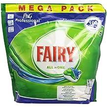 Fairy All in One - Cápsulas para lavavajillas, 100 unidades