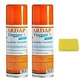 Quiko 2 x 200 ml Ardap FOGGER Ungeziefer Sprühautomat gegen Insekten + Insektenschwamm