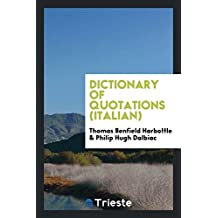Dictionary of quotations (Italian)