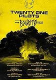 Desconocido Twenty One Pilots Gabardina GB 2019 el Bandito Tour Póster Foto Tyler Josh Mono Estresado out 041 (A5-A4-A3) - A5